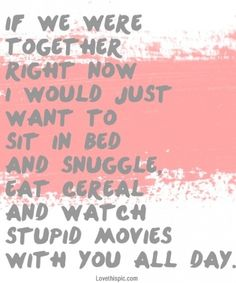 if we were together