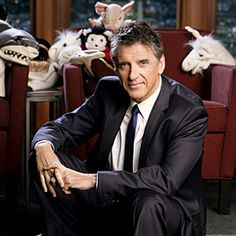 Craig Ferguson. Never underestimate the appeal of a man that can make you laugh