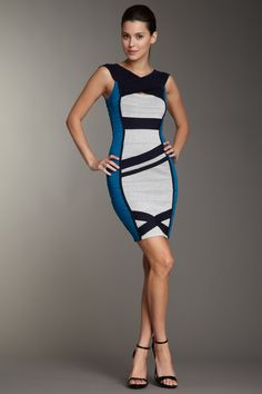 Boatneck Bodycon Dress