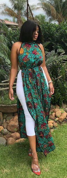 African print modern designs, African fashion, Ankara, kitenge, A. African Fashion Ankara, African Fashion Designers, Ghanaian Fashion, Latest African Fashion Dresses, African Dresses For Women, African Print Dresses, African Print Fashion, Africa Fashion, African Attire