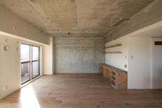 リノベーション 設計事務所 FieldGarage Inc. www.fieldgarage.com/ Wall _ 壁 (カラーペイント・黒板塗装・OSB・輸入クロス・モルタル・レンガ貼 等)