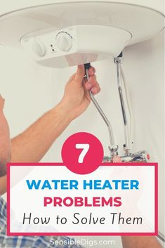 Smelly water, strange noises, low water pressure... if your water heater is acting up, it can be really frustrating finding the source of the problem. Take a look at our guide to troubleshoot the issue and have your water heater up and running again.