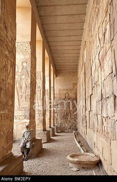 Temple of Osiris in Abydos, Egypt