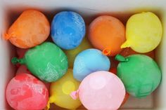 Keep Your Party Drinks Cold in Frozen Water Balloons   The Daily Meal