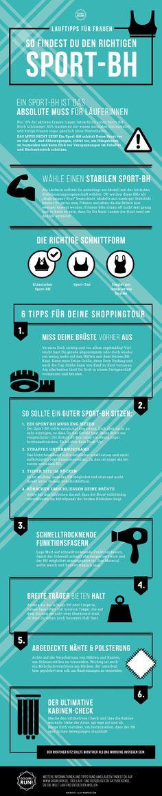 Tipps für den richtigen Sport-BH