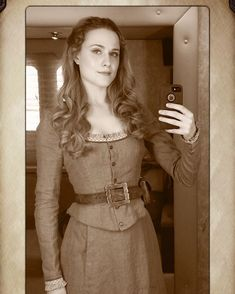 First picture I ever took as Dolores. Back in 2014, first day of filming the pilot.