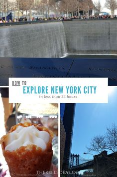 How to Explore New York City in less than 24 hours. thekeeledeal.com #NYC #BucketList #familytravel #travel #thekeeledeal