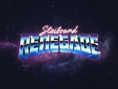 "Starbound Renegade Starbound Renegade<br> Logo for Starbound Renegade, which I am calling my music project right now. But I have been thinking about evolving Starseed Supply Co. into this brand which feels more ""me"" these days and isn't li. Design Retro, Vintage Design, Logo Design, Graphic Design, Logos Vintage, Retro Logos, Book Portfolio, 80s Logo, Skull Girl Tattoo"