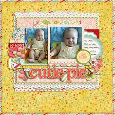 The Sweetest Thing by Zoe Pearn   Stitching and Alpha by Traci Reed  Others: Flair sticker by Juliana Kneipp  Font: CK Higgins Handprint