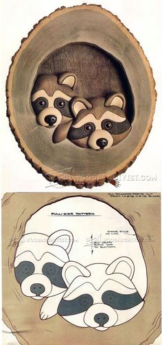 The Knothole Gang - Intarsia Projects, Tips and Techniques | WoodArchivist.com