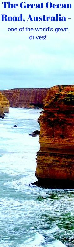 The Great Ocean Rd, Australia - one of the world's great drives.