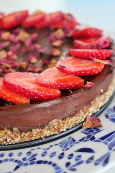 Biting Hanah: Čokoládový raw dort*