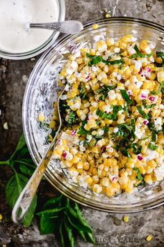 Sweet corn salad ~ is there anything better? These corn salad recipes made with fresh summer veggies and fabulous dressings make the cob sort of...irrelevant! #corn #cornsalad Sweet Corn Salad Recipe, Corn Salad Recipes, Corn Salads, Easy Salads, Beef Recipes, Mexican Recipes, Corn And Bean Salad, Fresh Corn Salad, Summer Corn Salad
