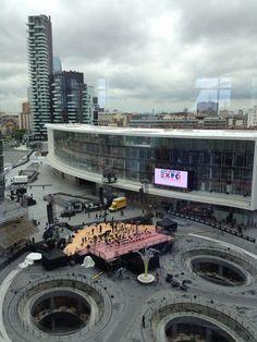 Prove di #expo365 #milano