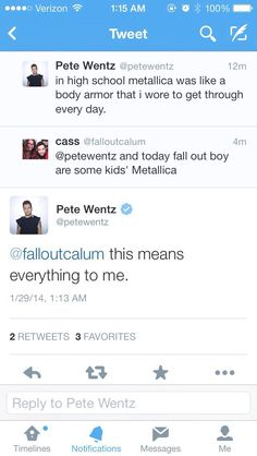 I love Pete so much don't touch me. Crying crying. Crying so much ByE>>>*Pats back*