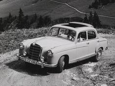 Mercedes-Benz Ponton 220S (W180) découvrable 1956-1959 vue AV - photo Mercedes-Benz | Auto Forever