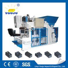 large type mobile block machine