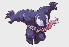 Venom for MARVEL's Super Hero Adventures. via Derek Laufman (@laufman) | Twitter