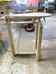 ❧ Shop Made Scroll Saw - Part 3 - by William @ LumberJocks.com ~ woodworking community