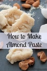 How to Make Almond Paste - Recipe and Tutorial Dutch Recipes, Almond Recipes, Baking Recipes, Sweet Recipes, Baking Tips, Bread Baking, Swedish Recipes, Candy Recipes, Dessert Recipes