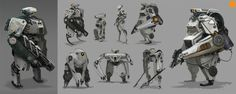 Explore the art ofDarrenBartley, concept artist at Ubisoft in Montreal, and his gallery of characters
