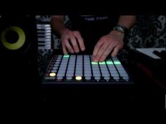 """(Novation // Launchpad S """"KillTheRobot"""") Amazing, played by pressing sounds on the Launchpad."""