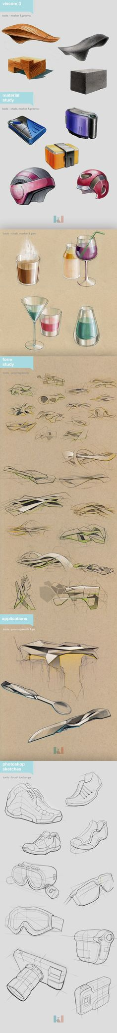 Visual communications by Kidong Kwon, via Behance