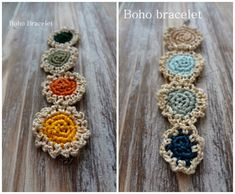 Little Treasures: Crochet Mini Doilies {Necklace and Bracelet} - a free pattern