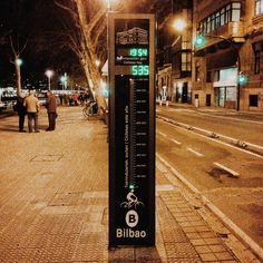 Counting bikes #bilbao #bikes #mobility #movilidad #urbana