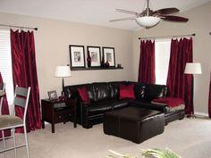 Fantastisch Rotes Wohnzimmer Dekor Zubehör