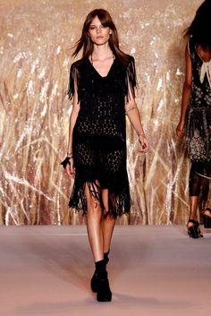 Anna Sui Spring 2011 Ready-to-Wear Fashion Show - Freja Beha Erichsen