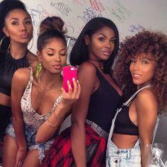 Group of besties friends four girls Go Best Friend, Best Friend Goals, Best Friends, Bff Goals, Squad Goals, Black Girls Rock, Black Girl Magic, Black Power, Bffs