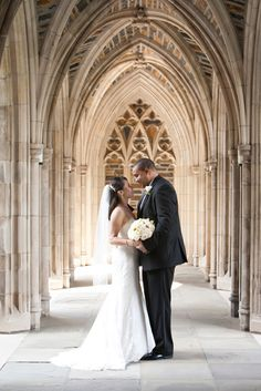 Duke University Chapel Wedding Durham NC