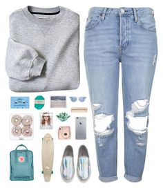 """Mornings in New York."" by freak4fashion14 ❤ liked on Polyvore"