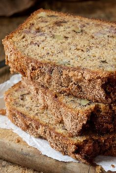 Whole-Grain Banana Bread Recipe