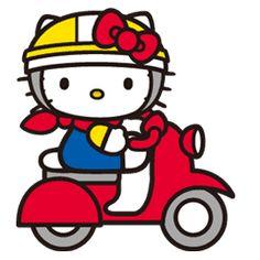 Hello Kitty es conocida por todo el mundo y ahora llega a LINE. Podrás ver su vida cotidiana y sus poses tan originales.