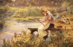 The Gentle Art ~ Joseph Kirkpatrick ~ (English: 1872-1930)
