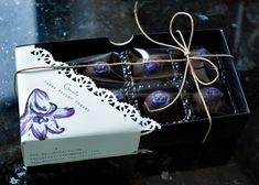 Dark Chocolate Parma Violet Creams