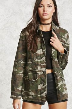 FOREVER 21 Camo Print Jacket: http://shopstyle.it/l/m50J