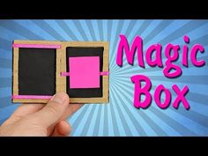 How To Make Magic Box From Cardboard! - YouTube