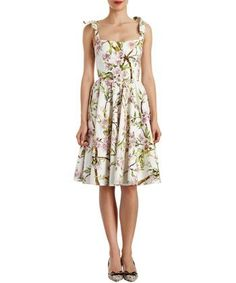 ROSE-PRINT SLEEVELESS DRESS, $1,495, DOLCE & GABBANA, NET-A-PORTER.COM