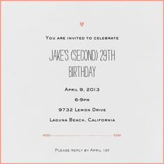 404 Best Adult Birthday Invitations Images