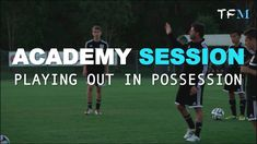 Football Academy Session 2 - Playing Out in Possession Football Training Drills, Soccer Drills, Soccer Coaching, Soccer Workouts, Soccer Practice, Shin Splints, Youth Football, Play, Exercise