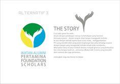desain untuk pertamina foundation scholars