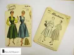 1950s Dress Patterns part of Bury Art Museum's crafts collection