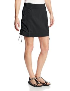 Columbia Womens Anytime Casual Skort Black Small ** Details can be found by clicking on the image.(This is an Amazon affiliate link and I receive a commission for the sales)