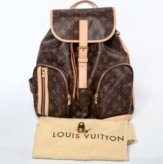 Bosphore Backpack in Monogram by Louis Vuitton.