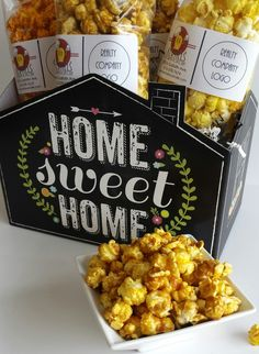 Kernels Nashville featuring Home Sweet Home Gift Basket Boxes from Nashville Wraps.