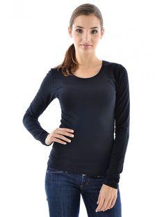 Dámske moderné tričko z ľahkého a pohodlného materiálu v obľúbenom strihu. Módne tričko s dlhým rukávom je od slovenských návrhárov a vyniká nadčasovým dizajnom. Aj celebrity nosia JUSTPLAY, buď štýlová a trendy tiež. Materiál: 95% bavlna, 5% elastan