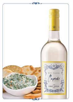 Cupcake Vineyards Pinot Grigio - Yum  #CupcakeDreamWedding